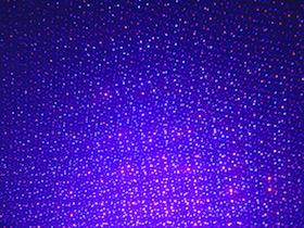 bule laser